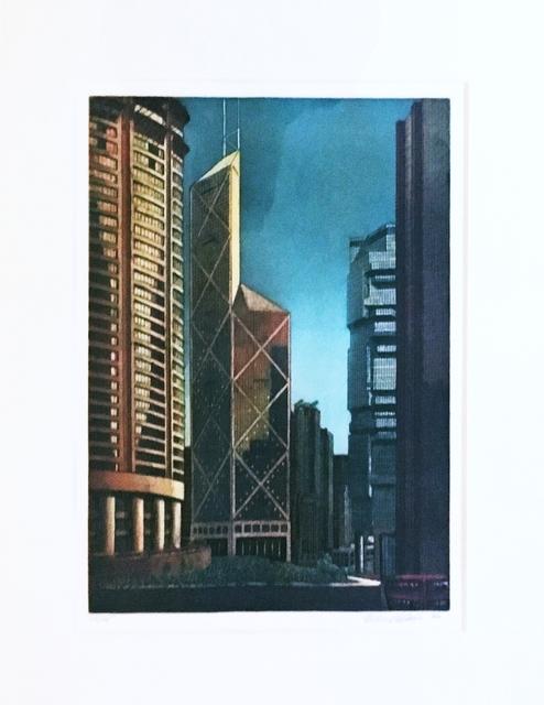 Richard Haas, 'Hong Kong', 1990, Alpha 137 Gallery