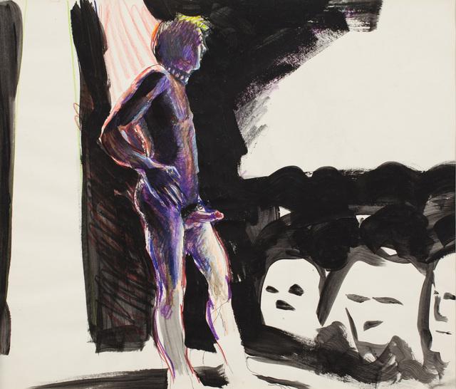 , 'Gaiety Dancer, caron d'ache,' , Galerie Thomas Fuchs