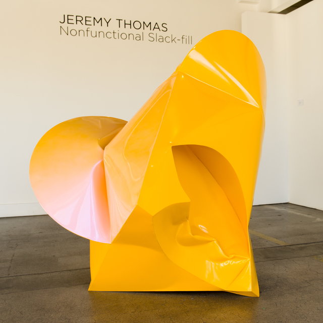 , 'Well Head Yellow,' 2017, Bentley Gallery