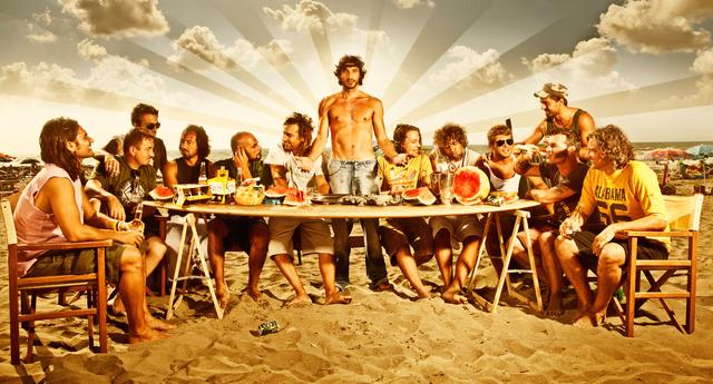 , 'The Last Supper,' 2014, Galleria Ca' d'Oro