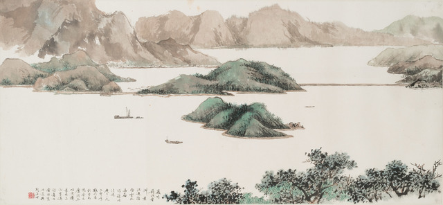 , 'Tolo Harbour,' 1990, Art Museum of the Chinese University of Hong Kong
