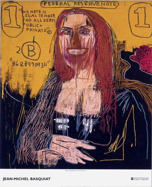 Jean-Michel Basquiat, 'Mona Lisa Exhibition Poster', 2002, MSP Modern