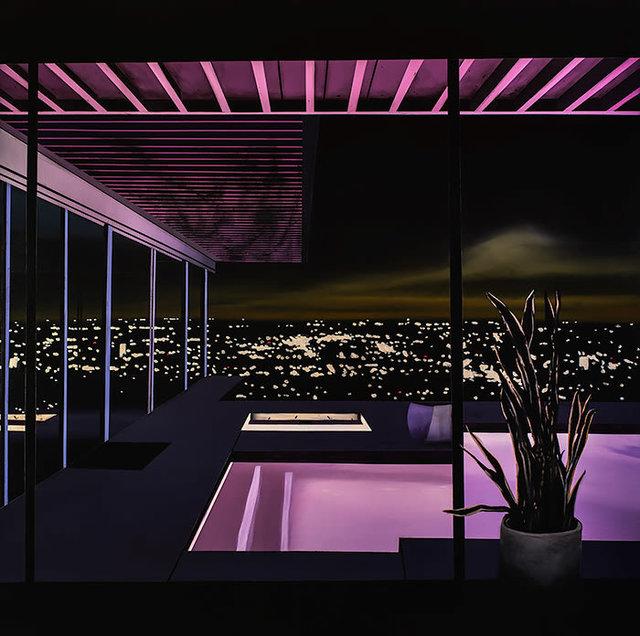 Laurence Jones, 'Night Pool I', 2018, Art Angels