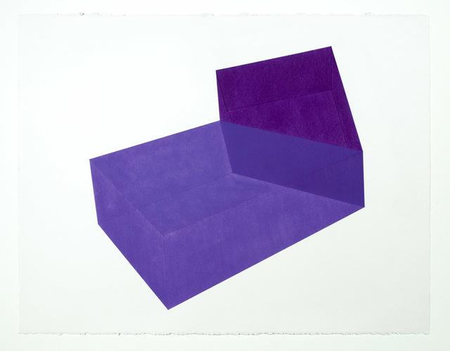 Brant Ritter, 'Accidental Happiness, Purple + Purple', 2017, Tappan