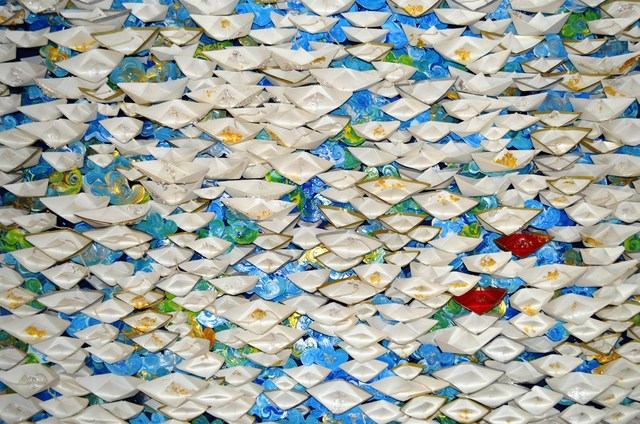 , '(SP) Origami boats,' 2017, ARTION GALLERIES