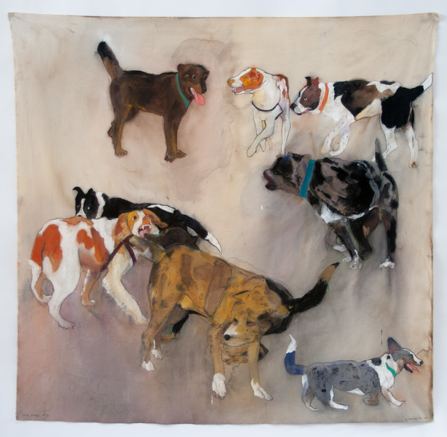 , 'NINE DOGS,' 2014, Greg Kucera Gallery