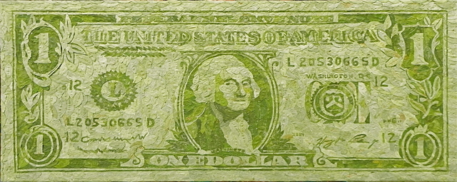 , 'One Dollar ,' 2014, PSH projects