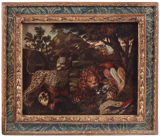 , 'Homo Homini Lupus,' 1700-1725, Brun Fine Art