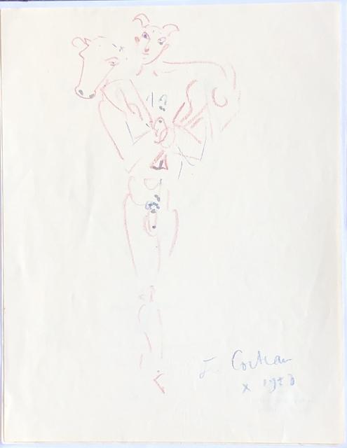 Jean Cocteau, 'Le Porteur de Brebis (Shepherd Bearer)', 1958, Denis Bloch Fine Art