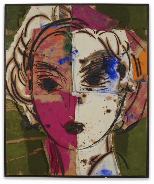 , 'Dorothy (retrato blanco y purpura),' 2004, Galeria Freites