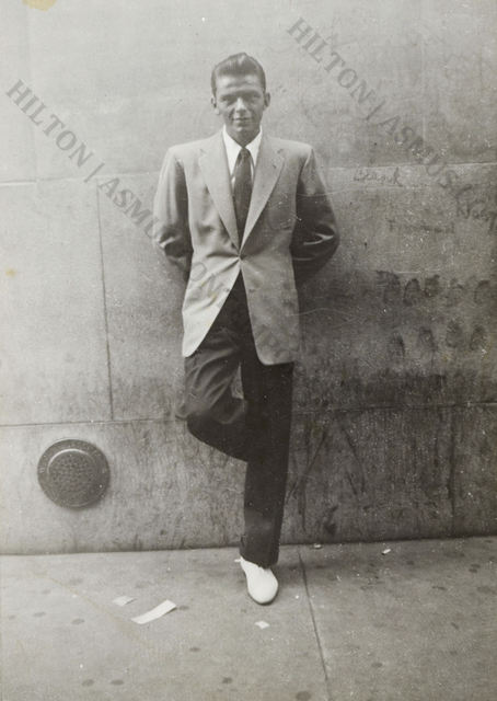 , 'Frank Sinatra White Shoes - Summer in the City,' ca. Early 1940s, Hilton Asmus