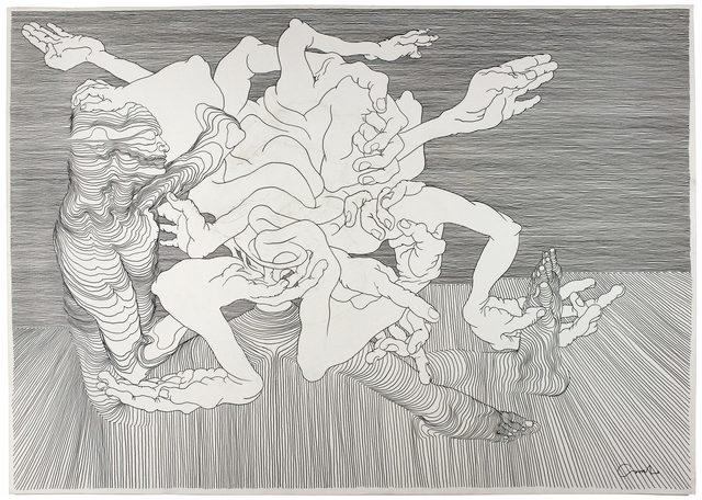 , 'Graphite 3,' 2012, Hans Alf Gallery