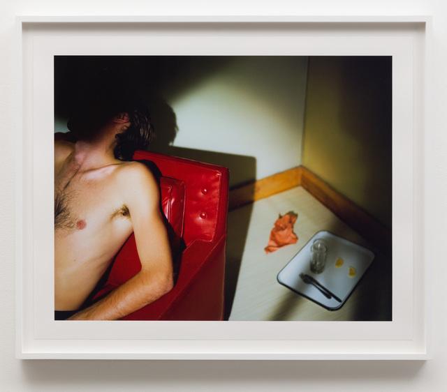 , 'Man in Red Chair,' 1978, Anat Ebgi