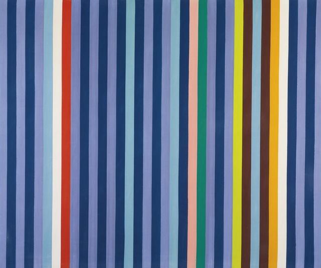, 'Blue-Violet (Azul-Violeta),' 1967, Museo de Arte Contemporáneo de Buenos Aires