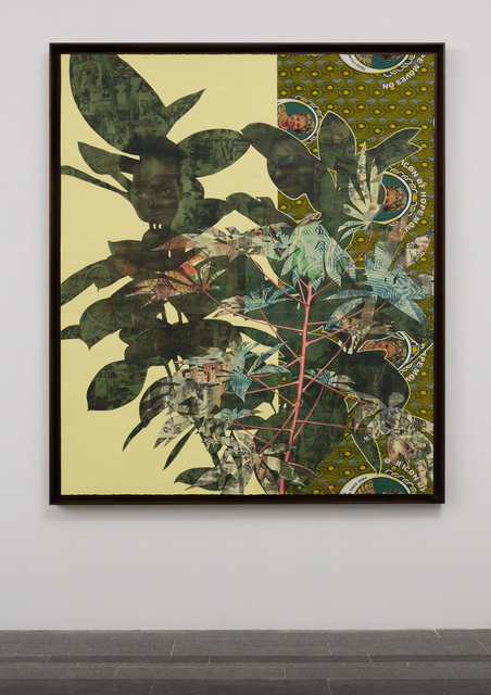 Njideka Akunyili Crosby, 'Cassava Garden', 2015, Future Generation Art Prize