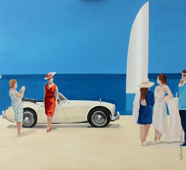 , 'Photo by a cabriolet,' 2017, Gallery Katarzyna Napiorkowska | Warsaw & Brussels