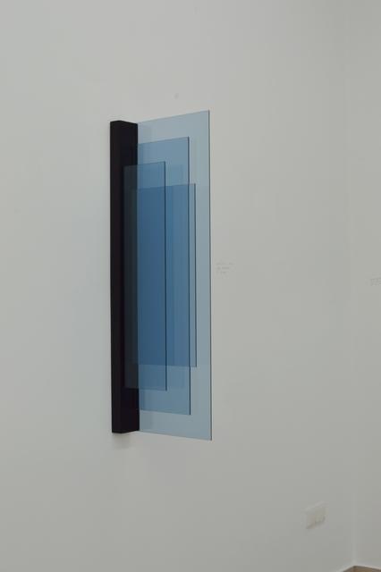 Dirk Salz, '#02', 2012, Painting, Glass and multiplex, Diana Lowenstein Gallery
