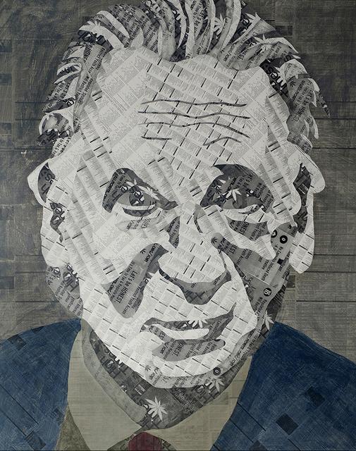 , 'Bill Maher,' 2016, Paraphé