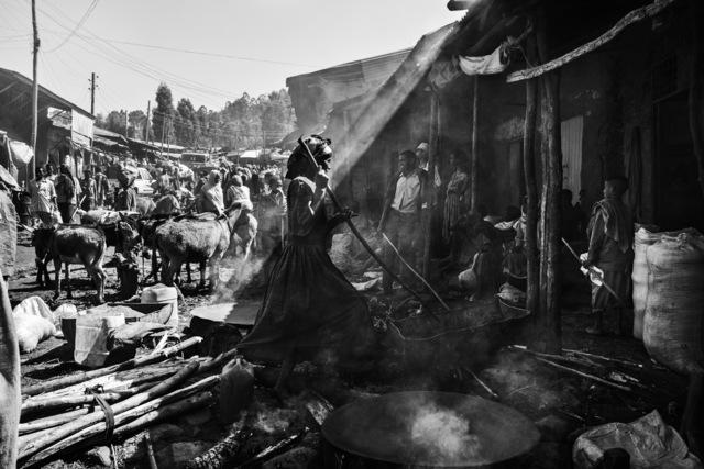 Ziv Koren, 'Gondar, Ethiopia May 2006 - The Commodity market in the Semien Gondar Zone of the Amhara Region.', 2006, Ouro Studio