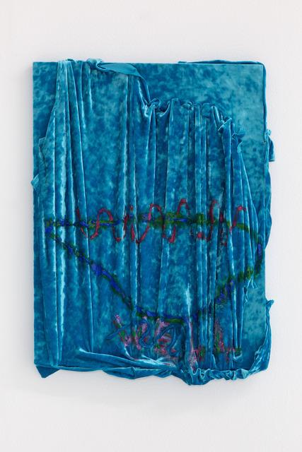 , 'Blue Velvet WELL,' 2014, Nina Johnson