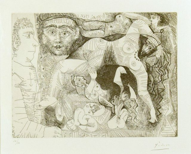 Pablo Picasso, 'Untitled, 3.5.68.II.', 1968, Wallector