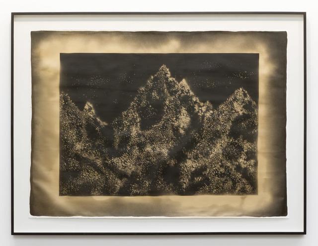 , 'Mental Mountains #1,' 2017, Michel Rein Paris/Brussels