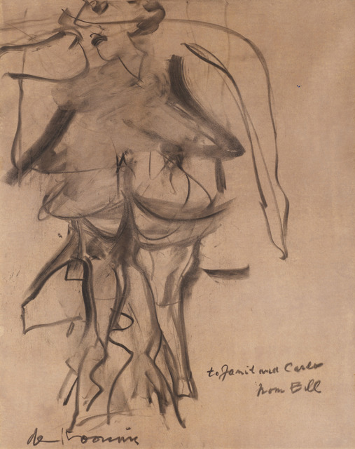 , 'Untitled (Figures) - 1 of pair,' 1954, DICKINSON