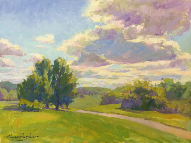 , 'Afternoon Clouds,' , Peninsula Gallery
