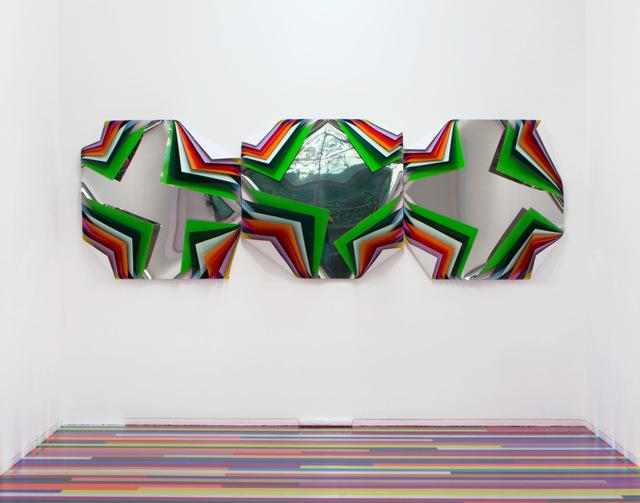 Jim Lambie, 'Metal Box (Tea Tree Orchid)', 2015, Roslyn Oxley9 Gallery