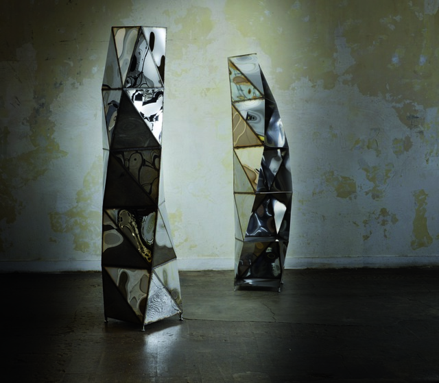 , 'Spiral Column Bookshelf,' 2012, Armel Soyer