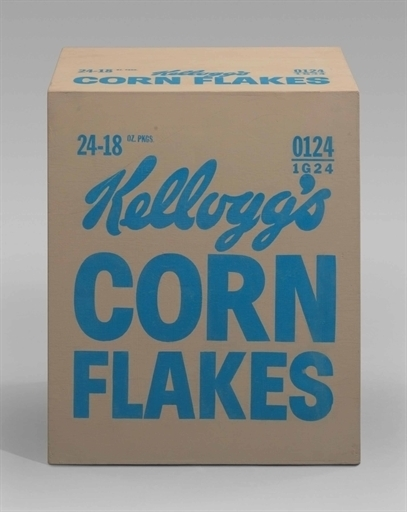 Andy Warhol, 'Kellogg's Corn Flakes Box', Silkscreen ink and house paint on plywood, Christie's