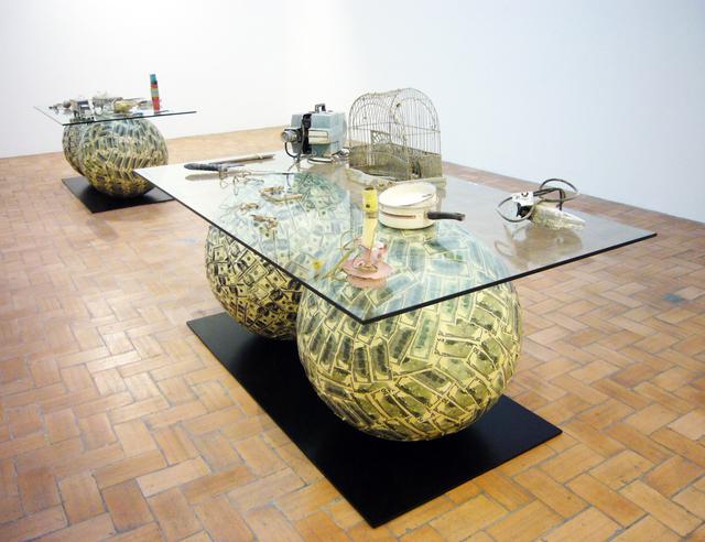 Meschac Gaba, 'Archéologie contemporaine 2,' 2003, In Situ - Fabienne Leclerc