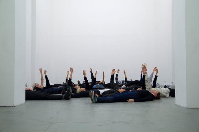 , 'Help! Help? Help.,' 2016, Blindspot Gallery