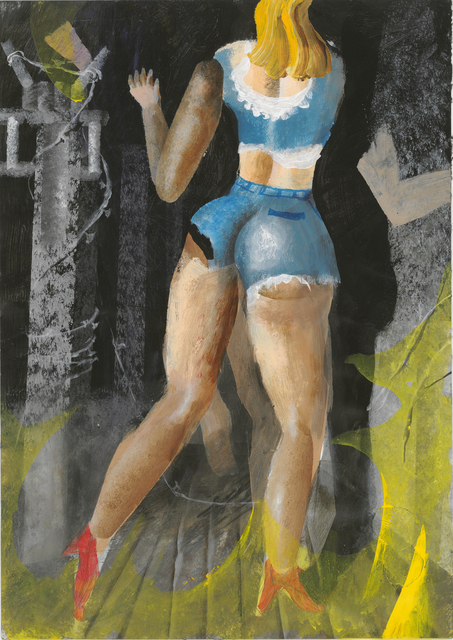 , 'Withdrawal,' 2016, Galerie Kleindienst