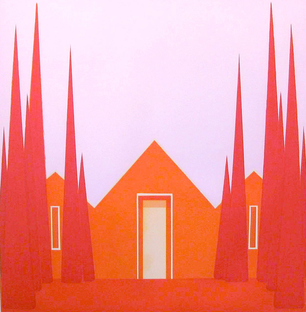 , 'Untitled (Vermillion House),' 2004, Paulson Fontaine Press