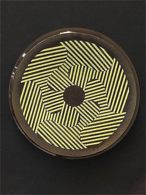 , 'TerraCotta Ceramic Platter,' , InLiquid