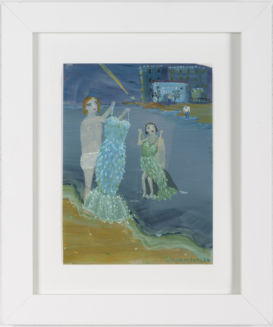 Ann Chamberlin, 'Dresses at the Sea', 2014, Lora Schlesinger Gallery