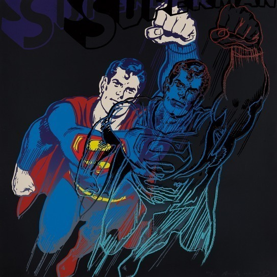 Andy Warhol, 'Superman (F. & S. II. 260)', 1981, Print, Screenprint in colors, David Benrimon Fine Art