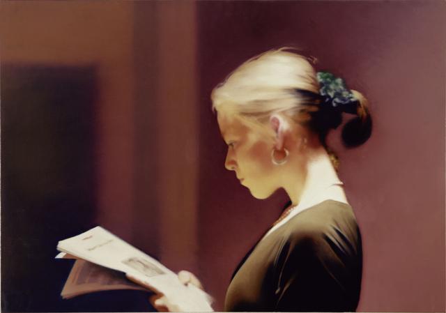 , 'Lesende,' 1994, Fondation Beyeler