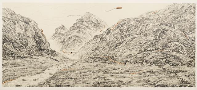 , 'Pen Walking #163,' 2012-2016, Mind Set Art Center