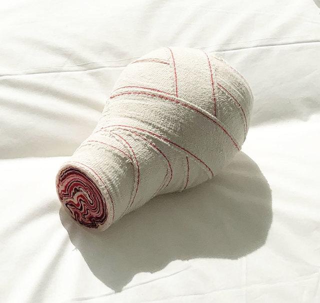 Elodie Antoine, 'Feutre-Bandage', 2019, Textile Arts, Felt, crape bandage, Aeroplastics