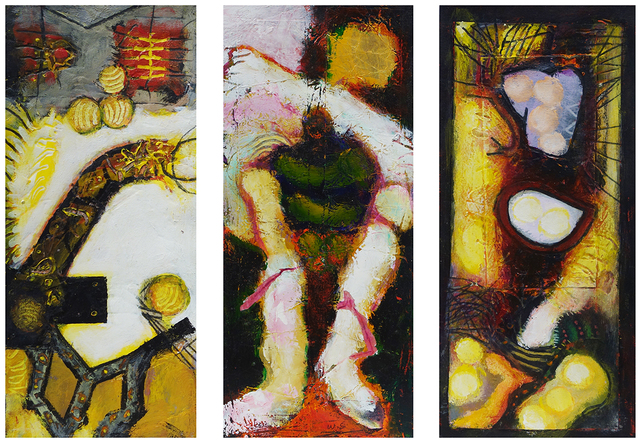 William Scharf, 'An Accidental Liking, The Sold Soldier, In the Enmity Tree (From left to right)', 2002, 2002, 2000 (From left to right), Hollis Taggart