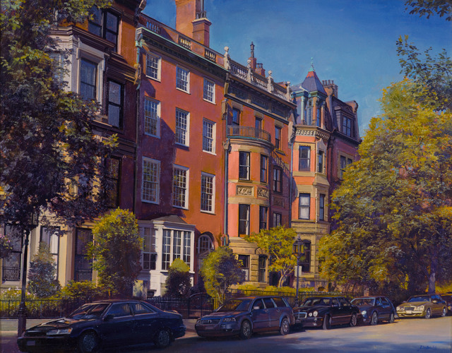 Joel Babb, 'Quiet Afternoon, Back Bay, Boston', 2016, Painting, Oil on linen, Vose Galleries