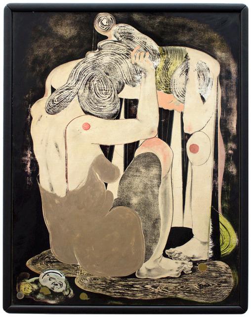 , 'o.T.(frau vor spiegel II),' 2016, galerie burster