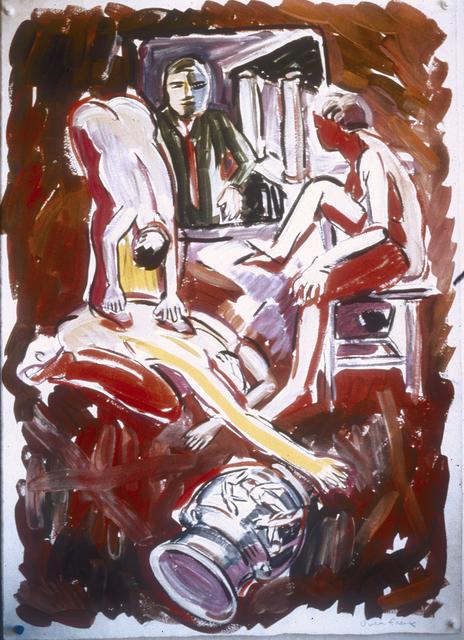 Viola Frey, 'Untitled (Birthday Drawing)', 1989, di Rosa