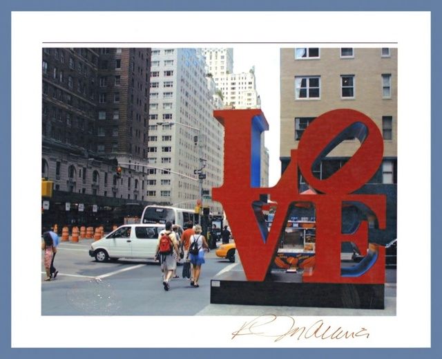 Robert Indiana, 'Love (Hand Signed)', ca. 1986, Alpha 137 Gallery Auction