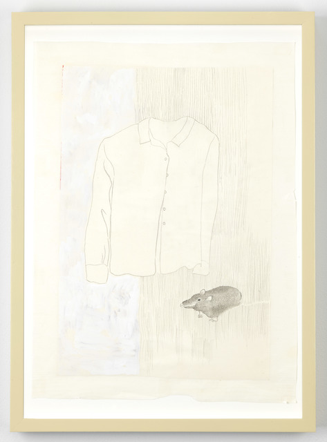 , 'White Shirt and A Guest,' 2017, Galerie Fons Welters
