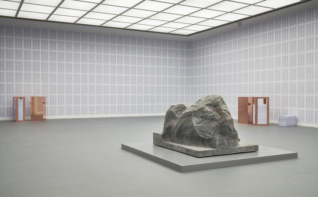 , 'Gegebenenfalls die Wirklichkeit,' 2017, Frankfurter Kunstverein
