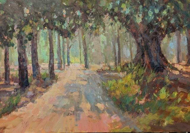 Millie Gosch, 'Southern Pine Path', 2018, Anne Neilson Fine Art