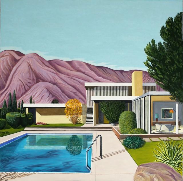Karen Lynn, ''Sunny Afternoon' Oil on Canvas, Contemporary Painting', 2021, Painting, Oil on Canvas, Ai Bo Gallery
